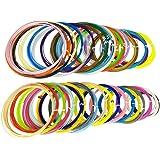 3D Pen filamento ricariche - 1,75 millimetri ABS Confezione da 40 colori diversi in 20 lunghezze di piede