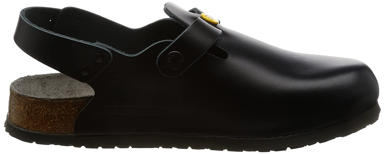 Birkenstock 61400 40 normales Schuh TOKIO AntistatikNaturleder normales Fußbett Schwarz Größe 40