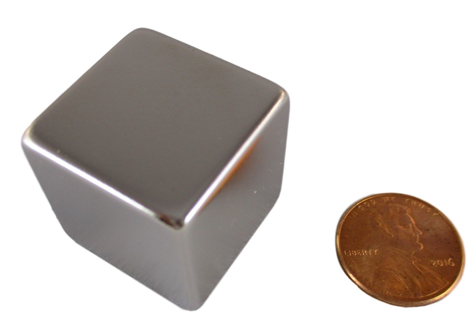 "Manic Magnets 1"" (25Mm) Cube Magnet (1 Pack) Rare Earth Neodymium 16"