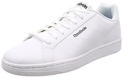 Reebok Men s Royal Complete CLN White Black Tennis Shoes - 10 UK India ( c4b36e3659502