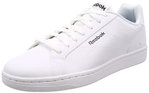 ecb92578710 Reebok Men s Royal Complete CLN White Black Tennis Shoes - 10 UK India (