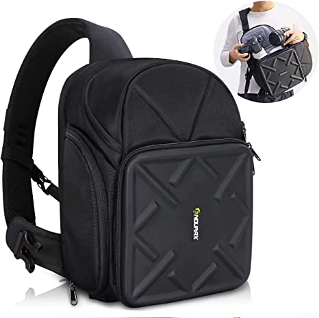 Endurax Sling Camera Bag Backpack For Dslr Camera With Amazon Co Uk Camera Photo