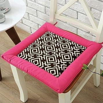 RYP Home Cojín Antideslizante Interior/Exterior Cojines Dos Colores, Almohadillas para Comedor, Sillas