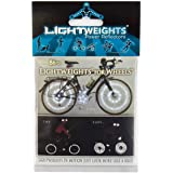 Light Weights for Wheels Silver Flex Super Bright Reflective