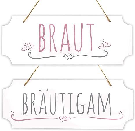 Lace Burlap Bögen Mr. & Mrs.
