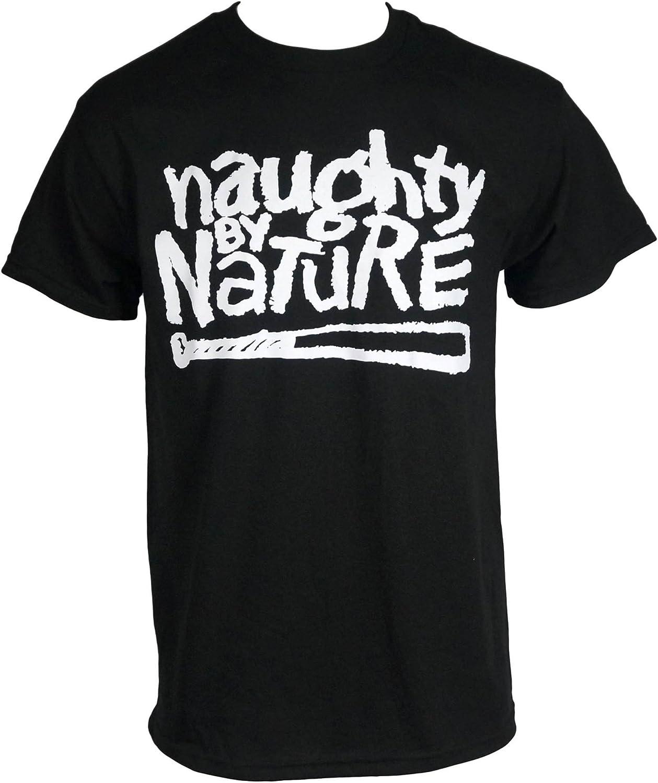 Naughty by Nature Men's OG Logo T-Shirt Black