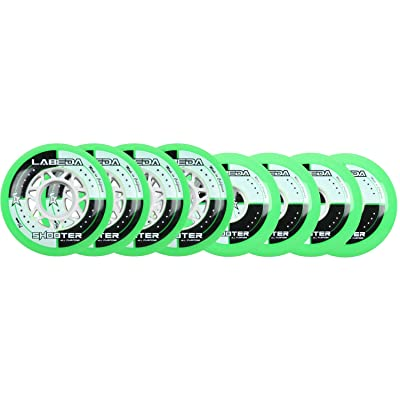 Labeda Wheels Inline Roller Hockey Shooter 68/76 Hilo : Replacement Skate Wheels : Sports & Outdoors