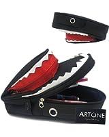 Artone Multi-Functional Large Capacity Shark Pencil Case Pen Bag Pouch Black