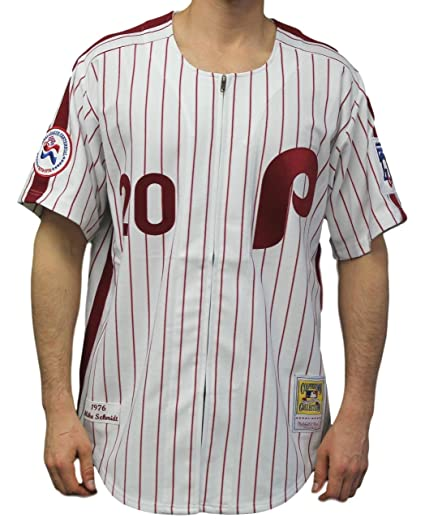 low priced 1f617 61a6f Mitchell & Ness Mike Schmidt Philadelphia Phillies Authentic 1976 Home  Jersey