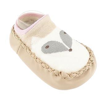 Falaiduo born Toddler Baby Girls Boys Anti-Slip Socks Slipper Boots