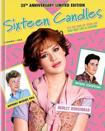 Amazoncom Sixteen Candles Blu Ray Molly Ringwald Anthony