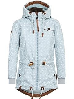 ca32ff35bf342a Naketano Damen Jacke Herr Schlapp Von Schwanz Jacket: Amazon.de ...