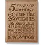 Kate Posh - Our 5th Anniversary Wooden Plaque