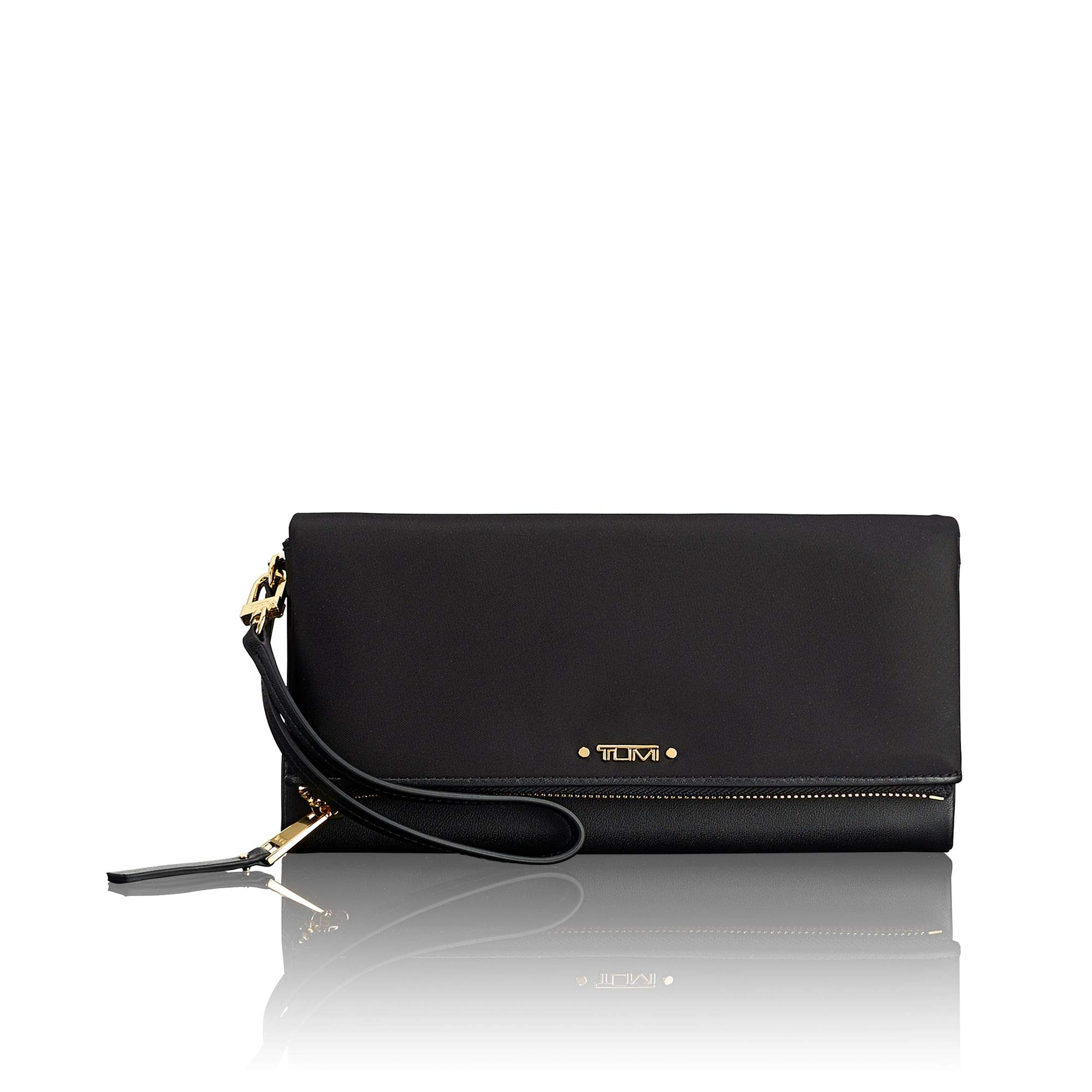 TUMI - Voyageur Travel Wallet - Card Holder for Women - Black by TUMI