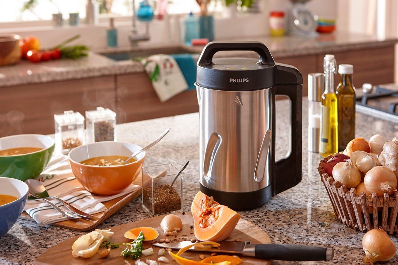 Philips Viva Collection HR2203/80 - licuadora y máquina para hacer sopa: Amazon.es: Hogar