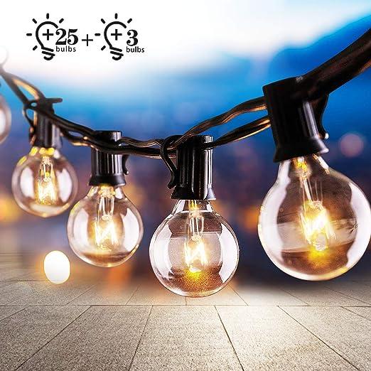 10 x Solare Vintage Edison Lampadina Luce Bianco Caldo Stringa Natale Festa Matrimonio Nuovo Con Scatola