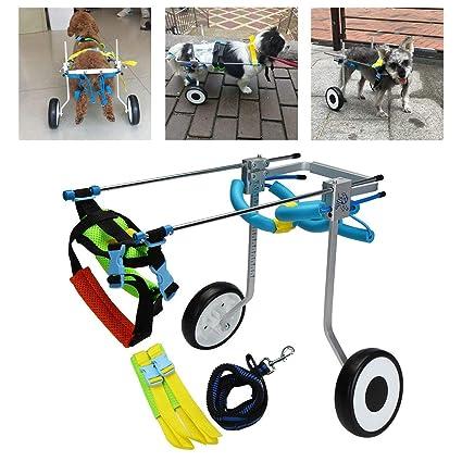 Laoyi Perro De Mascotas Gato Silla De Ruedas De Aleación De Aluminio para Caminar Scooter De
