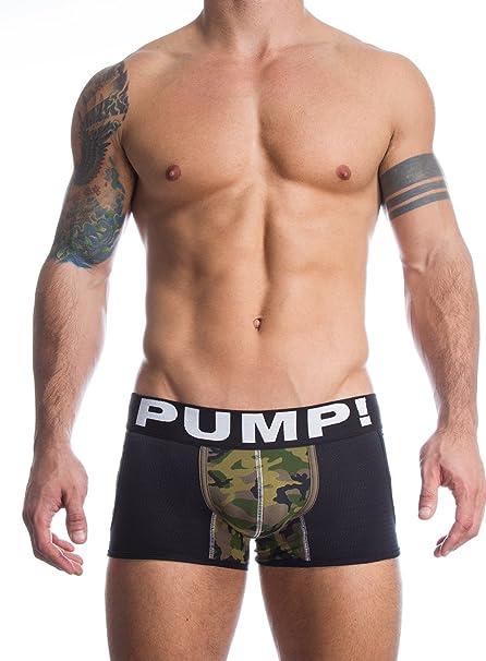 Ropa interior Boxer CAMUFLAJE Commando Jogger/negro