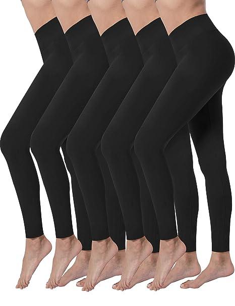 Amazon.com: Valandy - Leggings de cintura alta para mujer ...