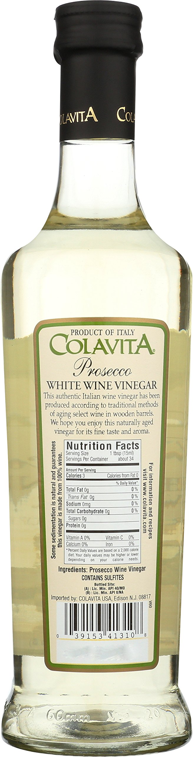 Colavita Prosecco White Wine Vinegar - 17 oz (2 Bottle) by Colavita (Image #2)
