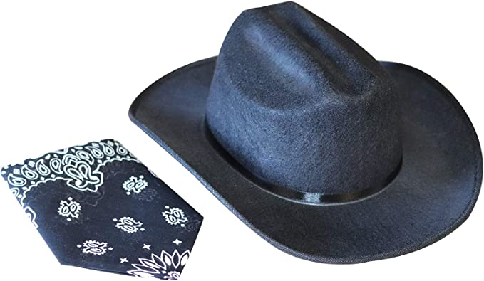 Widmann MINI COWBOY HAT white /& pink asstd