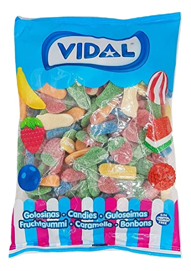 Vidal - Mega Surtido Brillo Ácido - gominolas surtidas ...