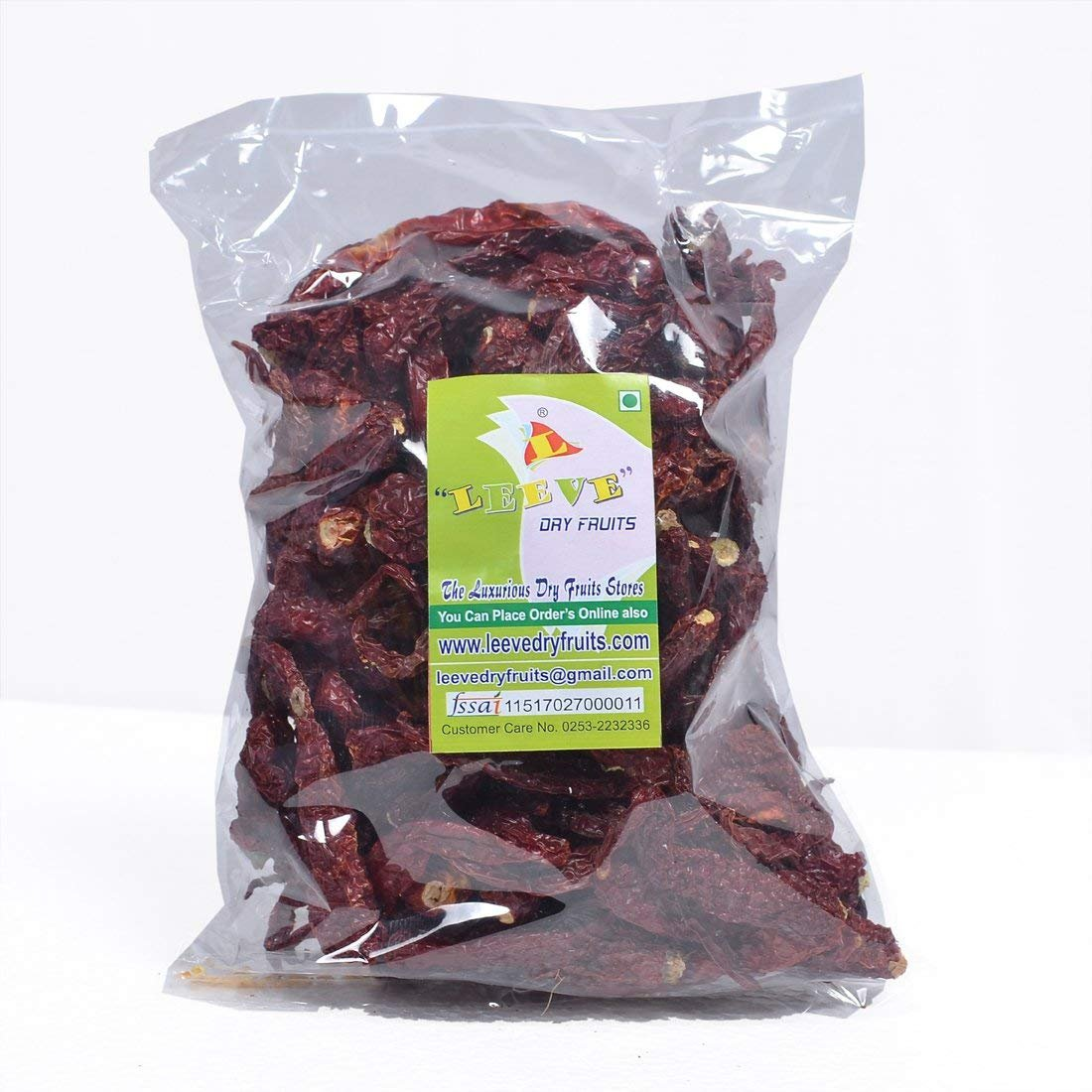 Leeve Dry Fruits Fresh Dried Byadig Chilli - 400 Gram (0.88 lbs)