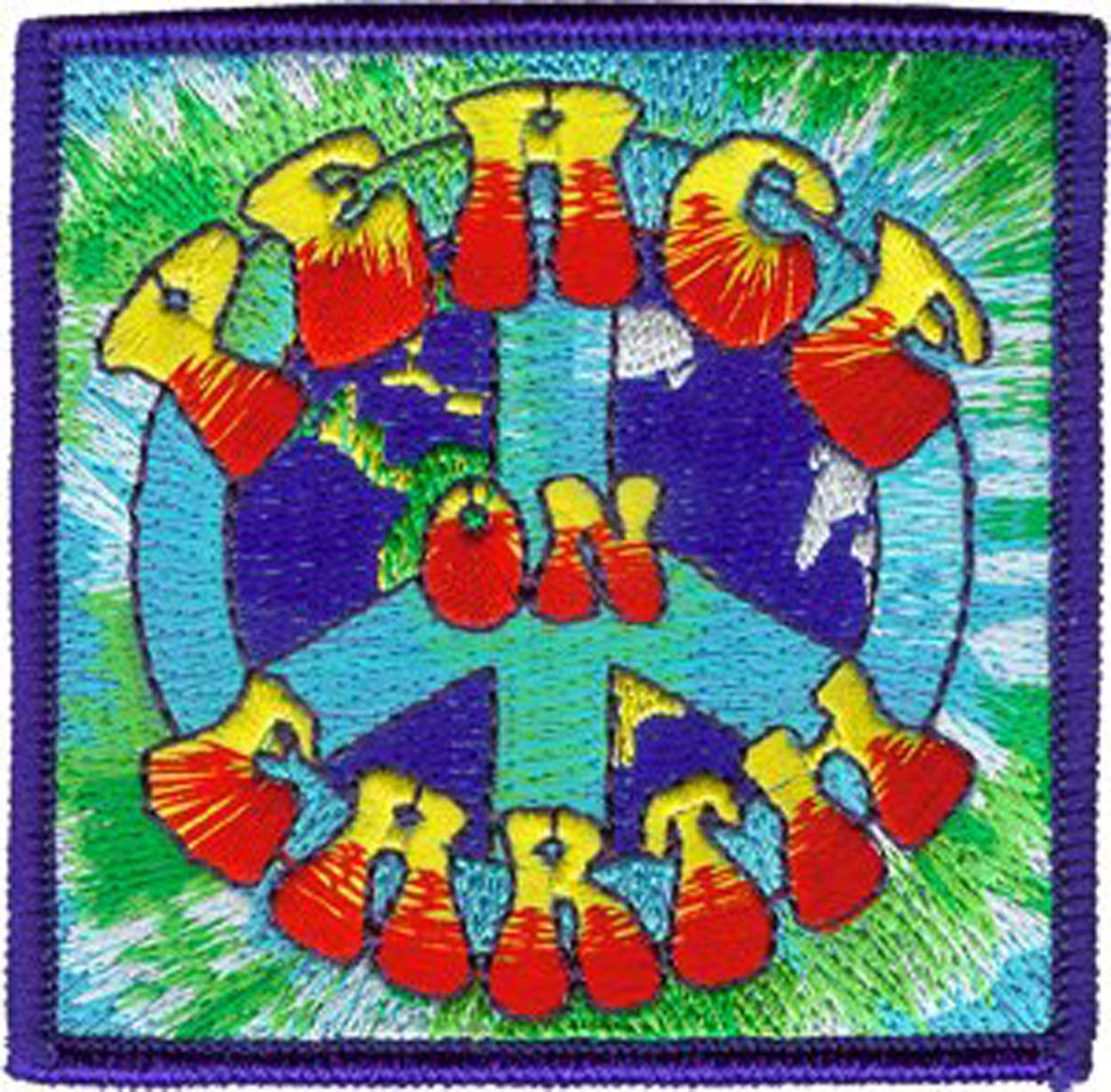 C&D Visionary P-3466 Peace Signs World Patch C&D Visionary Inc.