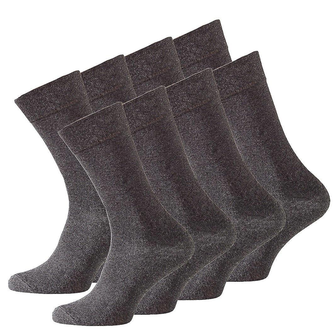 Vincent Creation 8 Paia di calze da uomo senza elastico