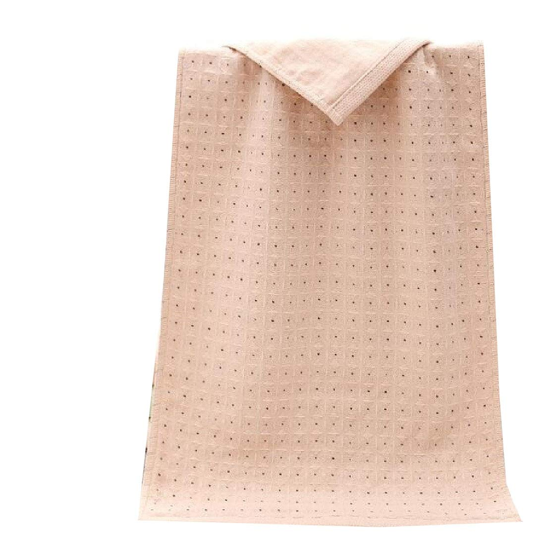 Andopa Cotton Ideal for Everyday use Sheer Superfine Fiber Soft Skin-Friendly Classic Bath Towels Yellow 3472cm