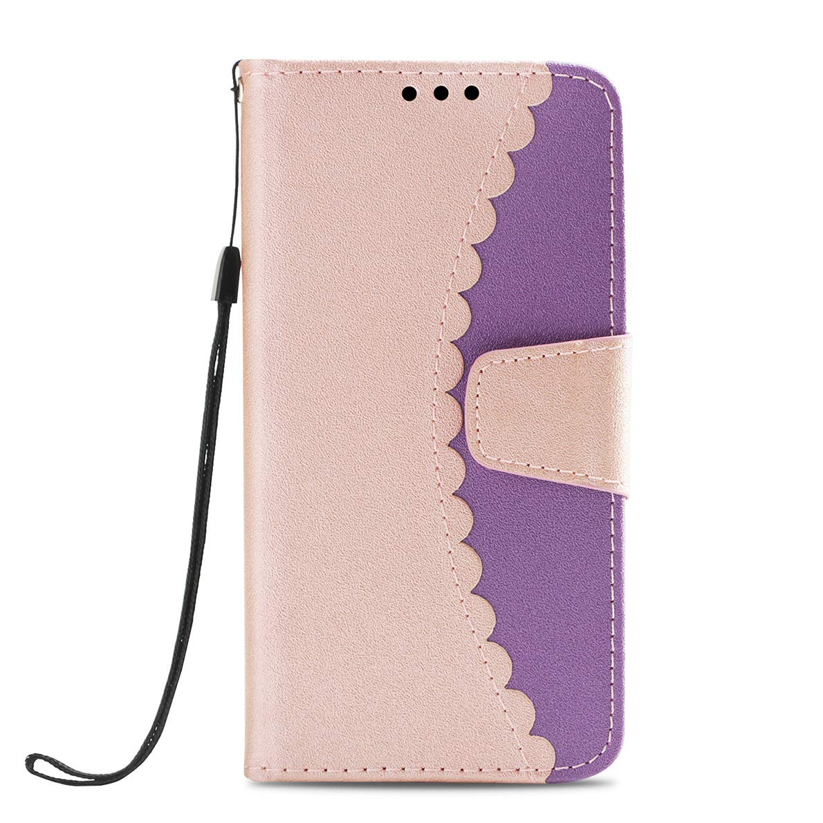 Samsung Galaxy S9 Plus Hülle, SHUYIT Farbe Premium PU Leder Tasche Cover Flip Wallet Case Bookcase Handyhülle Lederhülle Schutzhülle mit Standfunktion Kartenfächer für Samsung Galaxy S9 Plus