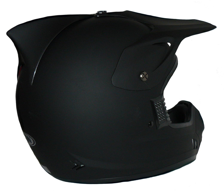 Protectwear Casco de motocross / Enduro llano negro mate H610-MS, tamaño M: Amazon.es: Coche y moto