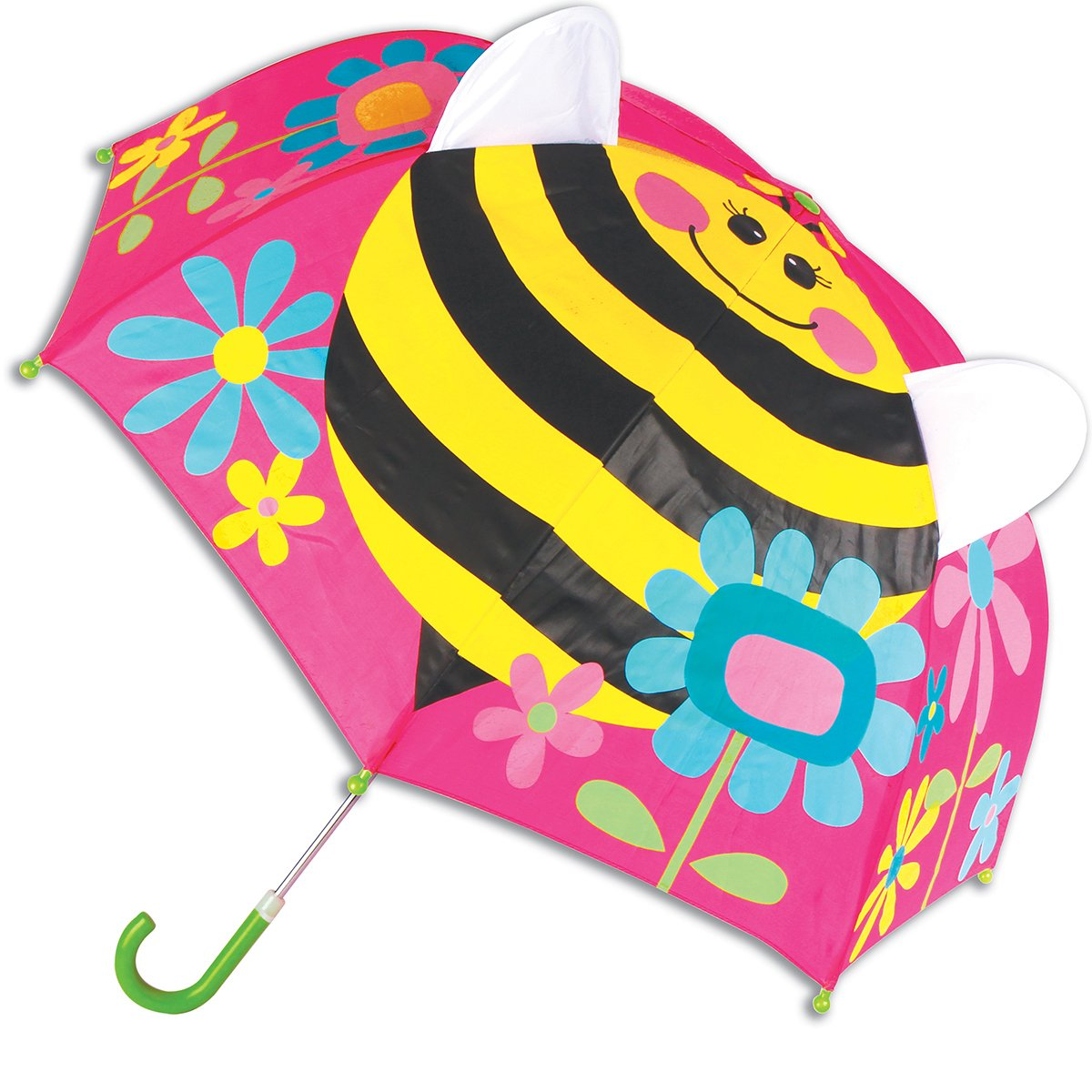 Stephen Joseph Pop Up Umbrella Butterfly Stephen Joseph Girls 2-6x SJ-1046-25