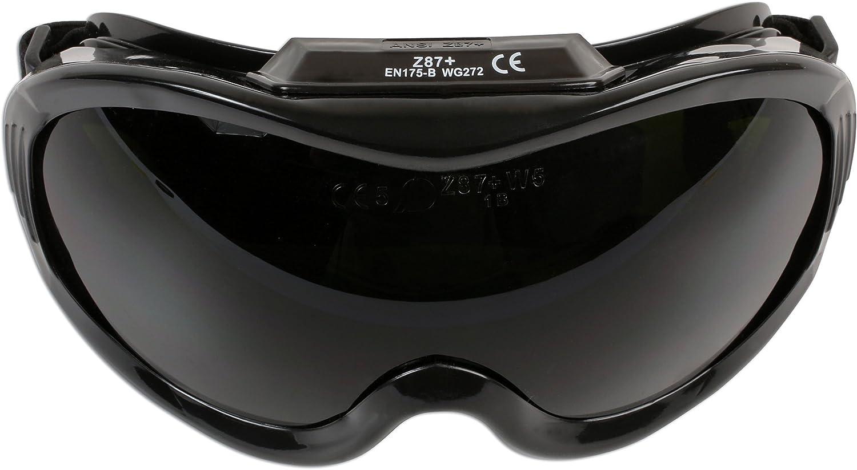 Laser Gafas de Soldadura 6724 de visión Amplia, de la Marca