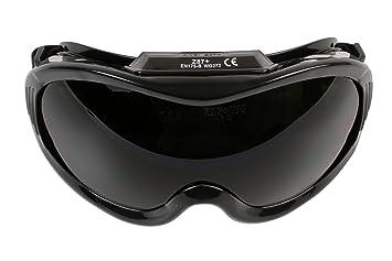 Laser Gafas de Soldadura 6724 de visión Amplia, de la Marca: Amazon.es: Coche y moto