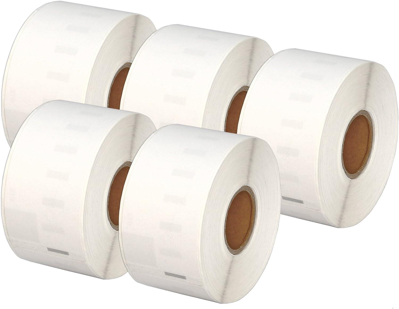 3 ROLLEN ETIKETTEN WEIß 19x51mm für DYMO Labelwriter SE300