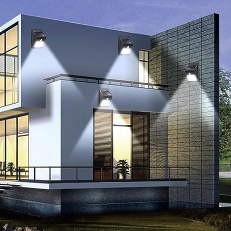 Lámpara solar de pared de inducción de 30 LED, Mamum 30 LED, luz ...