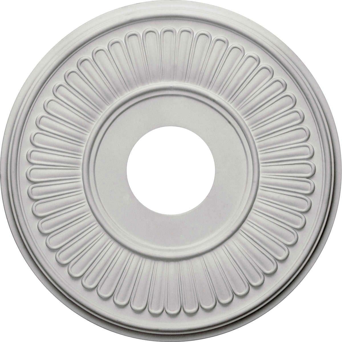 Ekena Millwork CM15BE 15 3/4-Inch OD x 3 7/8-Inch ID x 3/4-Inch Berkshire Ceiling Medallion