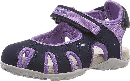 Geox Mädchen Jr Roxanne D Geschlossene Sandalen