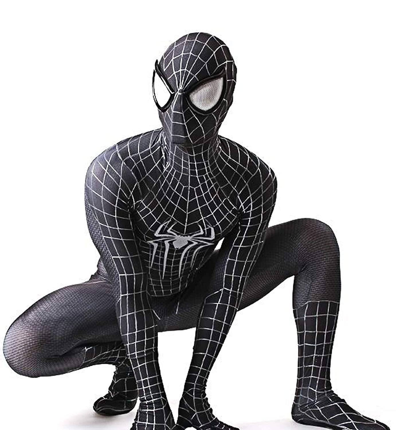 Amazon.com: Disfraz de Spiderman para Halloween, de licra ...