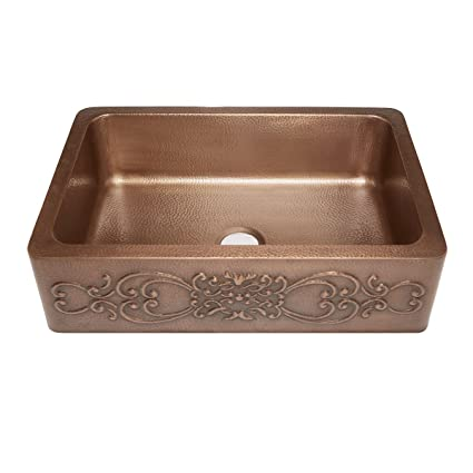 Cooper Kitchen Sink Sinkology sk303 33sc farmhouse ganku farmhouse copper sink 33 in sinkology sk303 33sc farmhouse ganku farmhouse copper sink 33 in single bowl copper kitchen workwithnaturefo