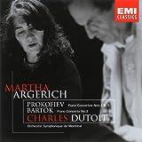 Bartok : Concerto pour piano n° 3 - Prokofiev :  Concertos pour piano n° 1 et n° 3