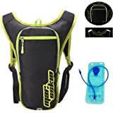 orangepeople Hydration Backpack Pack with 2L Water Bladder, for Men Women Outdoor Sports Hiking MTB