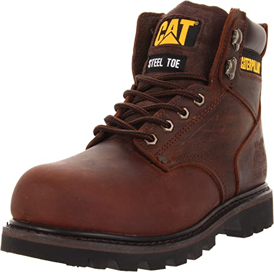 5. Caterpillar Second Shift Steel Toe Work Boot