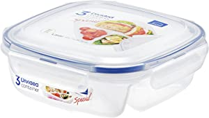 LOCK & LOCK SPECIAL 3 Divided Lunch box Container (Small)