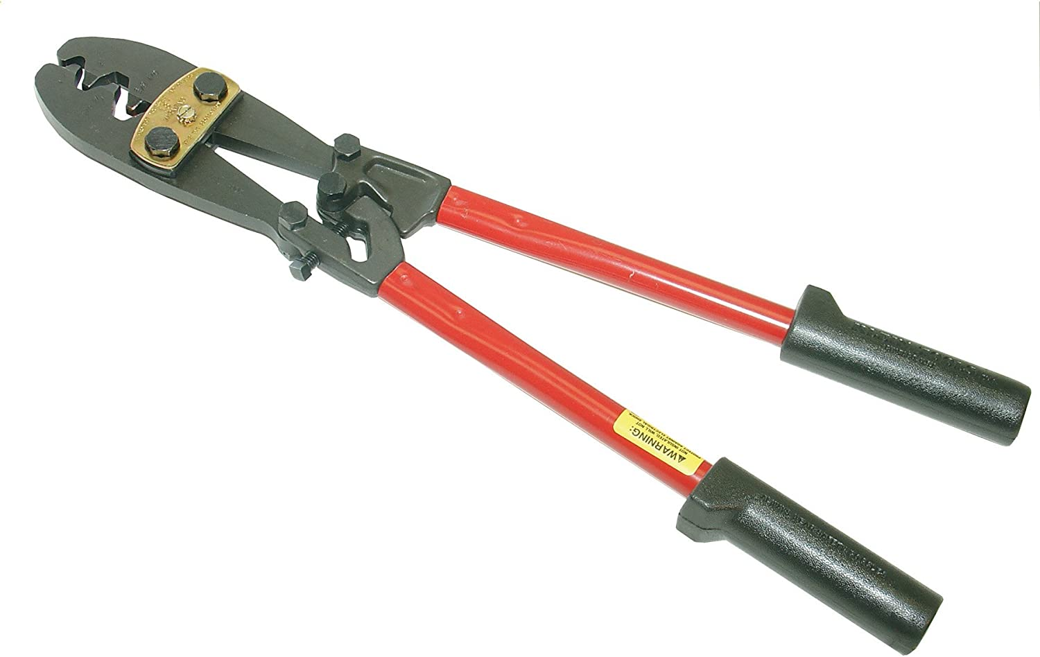 Klein Tools 2006 Large Compound-Action Crimp Tool,Red,19.5 Inches 71bkuxidTXLSL1500_