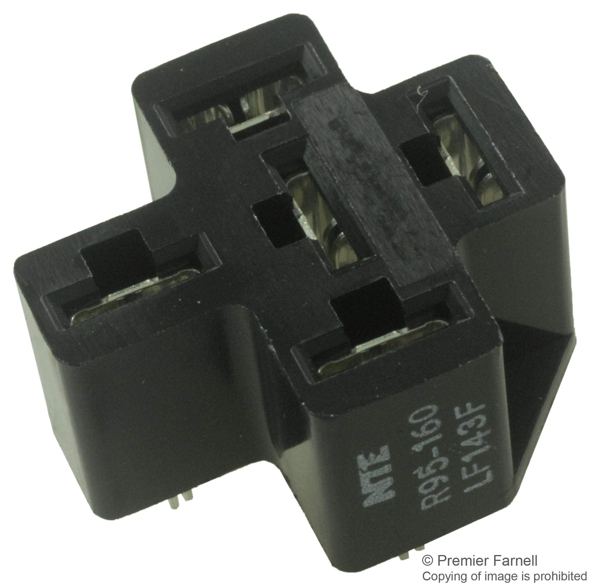 R95-160 - Relay Socket, Through Hole, 5 Pins, 50 A, R51 Series (Pack of 20) (R95-160)