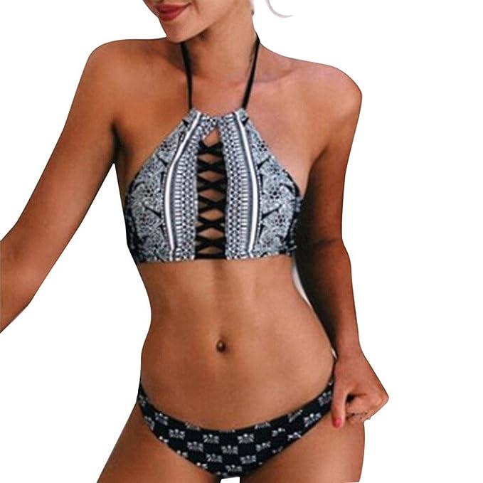 Amazon.com: Traje de baño sexy bañadores natación playa ...