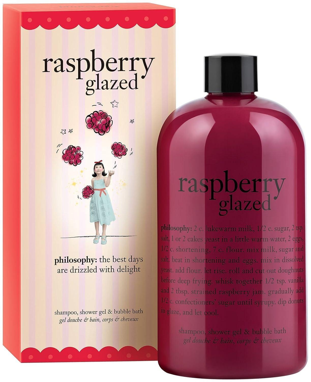 amazon com philosophy raspberry glazed shower gel 16 oz 16 oz amazon com philosophy raspberry glazed shower gel 16 oz 16 oz bath and shower gels beauty