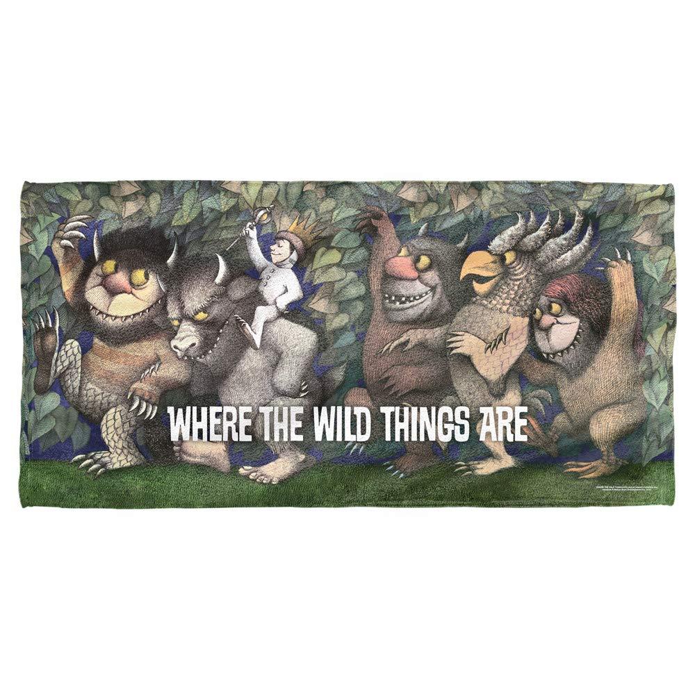 Where The Wild Things Are Wild Rumpus Dance Towel (30x60)